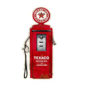 Gasoline Texaco - metalen bord
