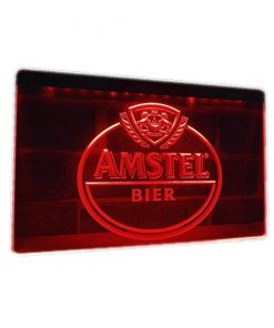 Neon led sign Amstel bier logo