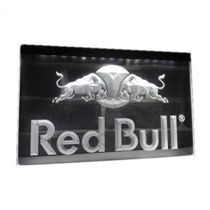 Neon led sign Red Bull