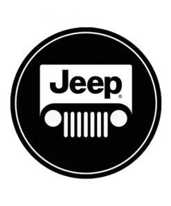 Jeep - metalen bord
