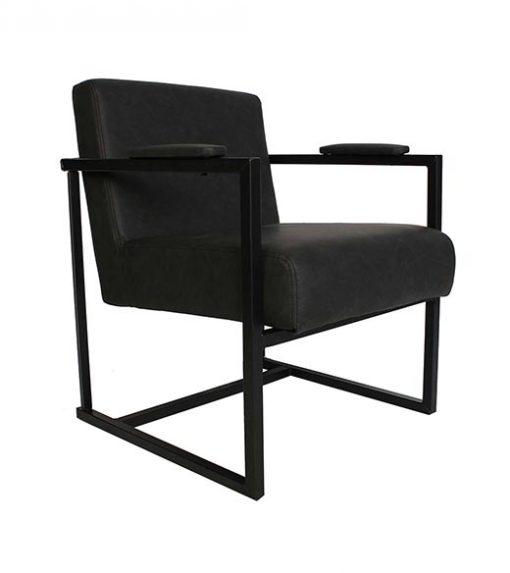 Fauteuil Thes Antraciet