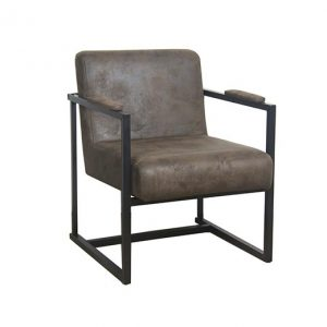 Fauteuil Thes bruin