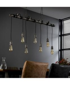 Industriele buis hanglamp Shredder