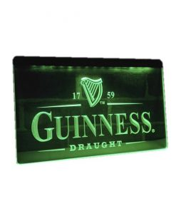 Neon led sign Guinness