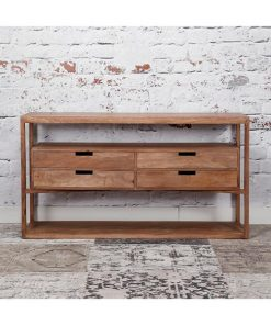 Dressoir industrieel Jeff 4 lades