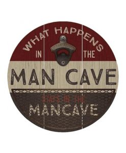 What happens in the Mancave flesopener bord