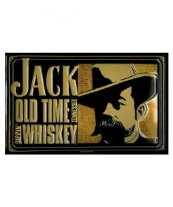 Jack old time Whisky Tennesse - metalen bord