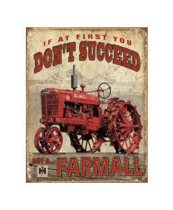 Buy a Farmall - metalen bord