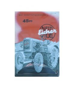 Eicher 45ps - metalen bord
