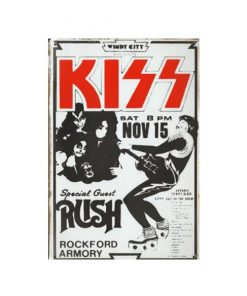 Kiss with special guest Rush