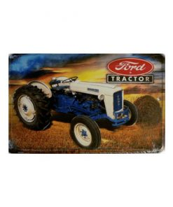 Tractor ford - metalen bord