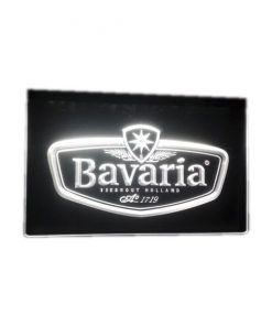 Neon led sign wit Bavaria
