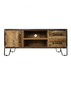 Tv meubel Stetson hout staal 130cm