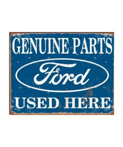 Ford genuine parts - metalen bord