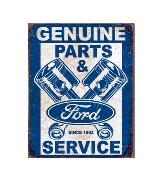 Ford service since 1903 - metalen bord