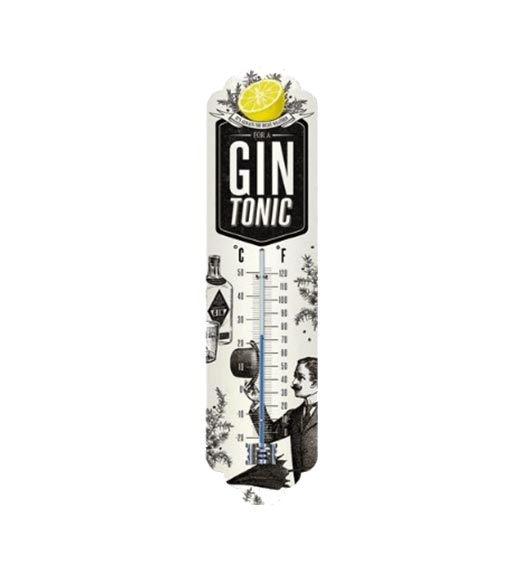 Gin tonic thermometer