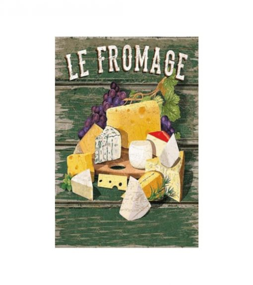 Le Fromage - metalen bord