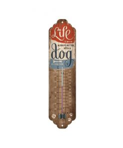 Life is always better with a dog thermometer