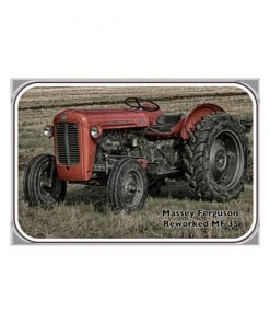 Reworked Massey Fordson - metalen bord
