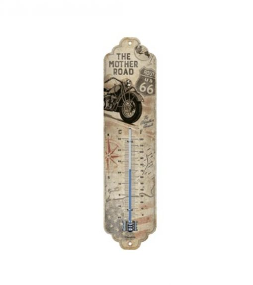 The mother road Route 66 thermometer