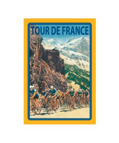 Tour de France - metalen bord