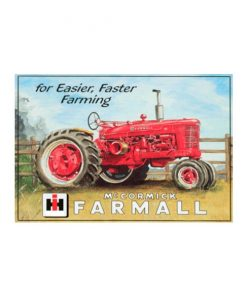 For easier, Faster farming McCormick - metalen bord