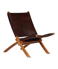 Jayh relaxfauteuil donkerbruin
