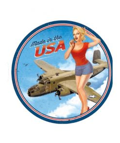 Made in the USA - metalen bord