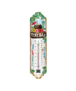 Tiki bar thermometer