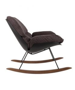 Dominic lounge fauteuil donkergrijs - NORI Living