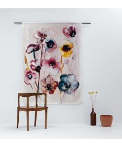Wandkleed 'Flowers in Soft Hues' - Urban Cotton