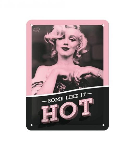 I like it hot - metalen bord
