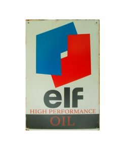 Elf high performance oil - metalen bord