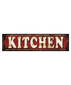 Kitchen - metalen bord