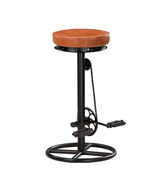 Cycle barchair bruin industrieel