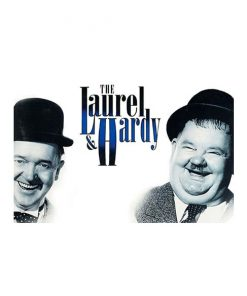 The Laurel & Hardy - metalen bord