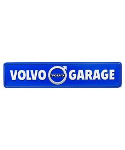 Volvo garage - metalen bord