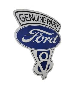 Ford genuine parts special - metalen bord