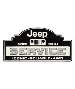 Jeep service since 1941 - metalen bord